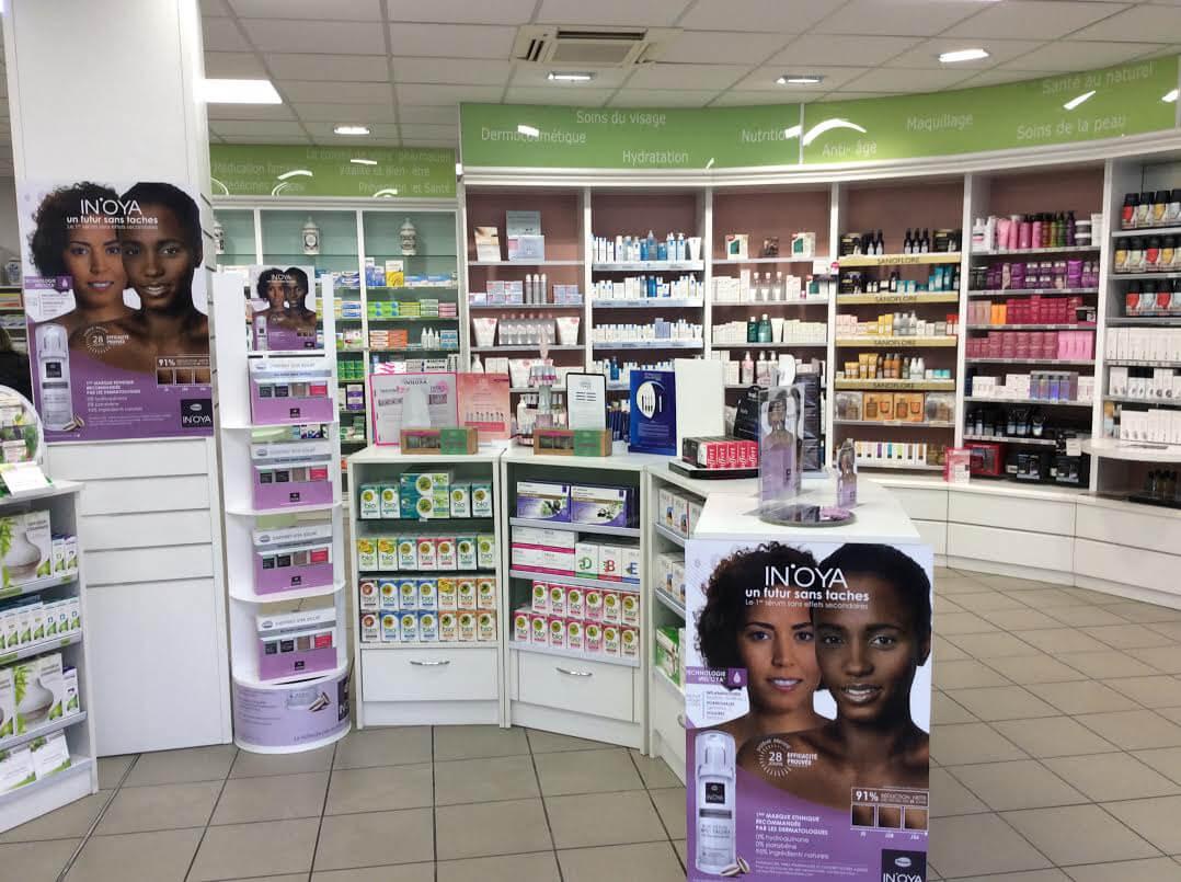 IN'OYA à la Pharmacie de l'Espérance à Reims