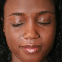 brillance peau noire