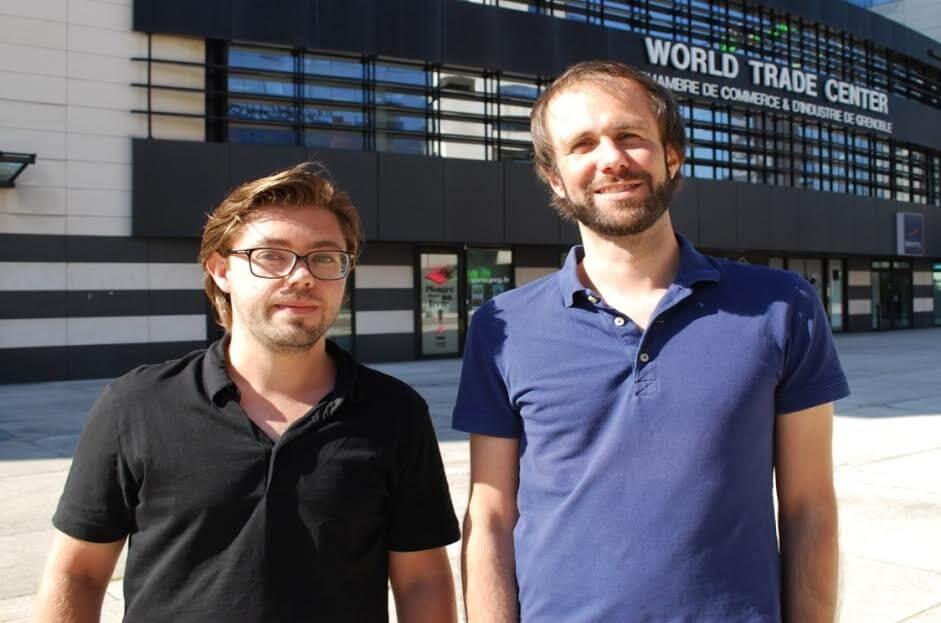 Alban Charrières et Samuel Mottin, fondateurs de Pharmanity.com