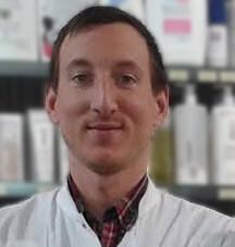 Cédric Charon de la Pharmacie du Progrès