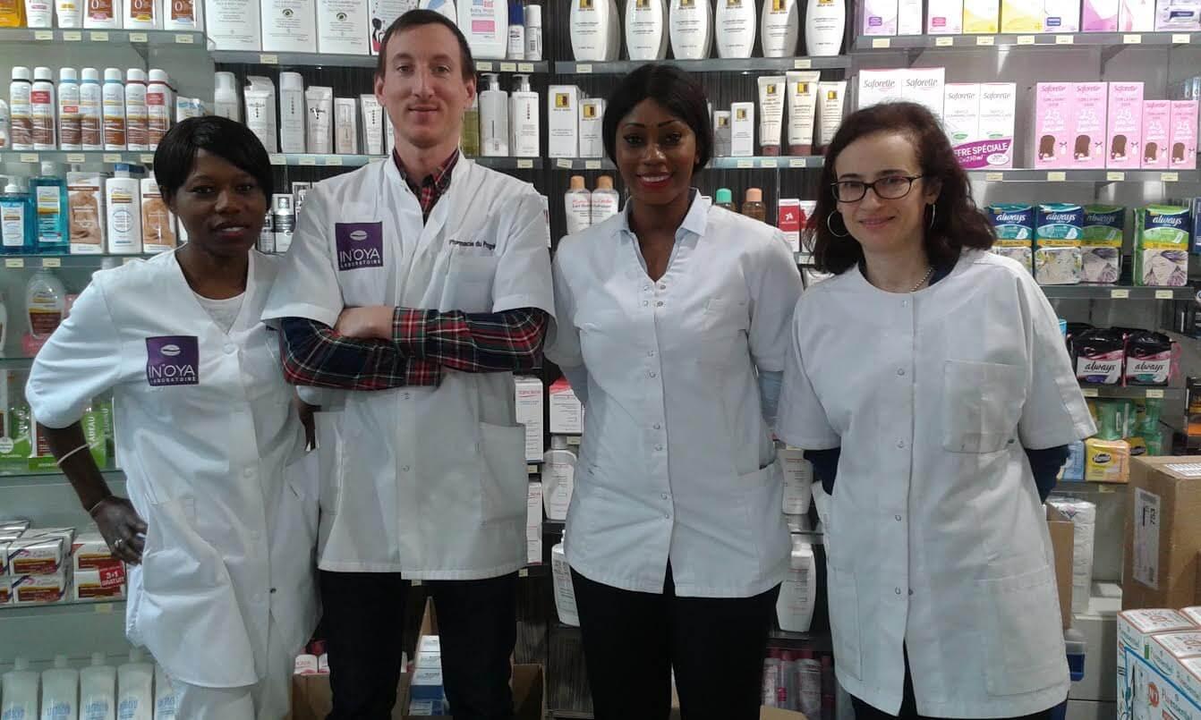 L'équipe de la Pharmacie du Progrès