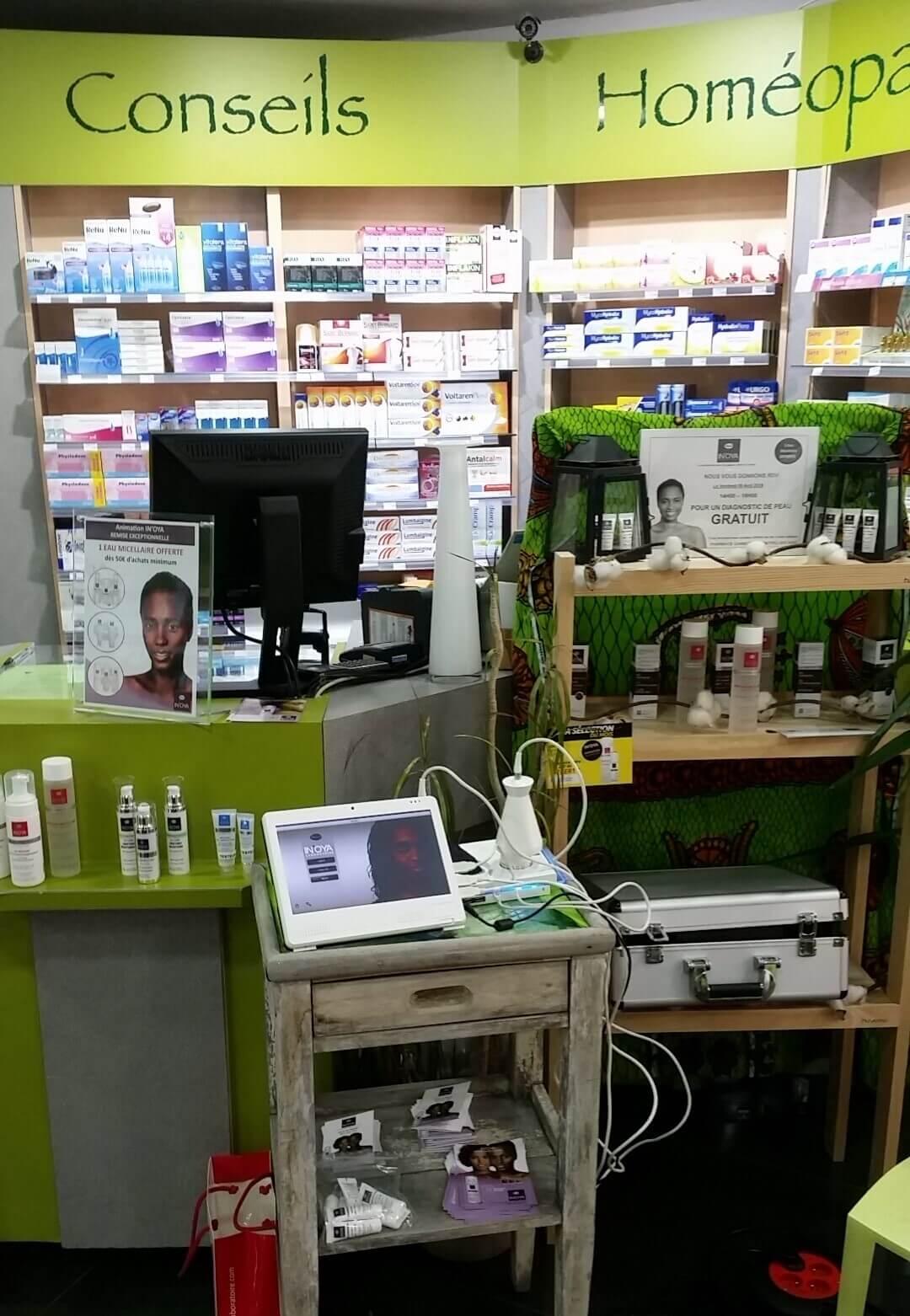 IN'OYA à la Pharmacie Gambetta à Montpellier