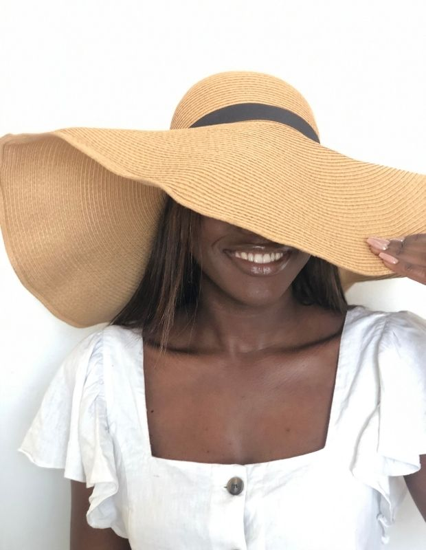 crème solaire sans traces peau noire