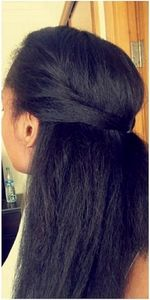 cheveux lisses afro