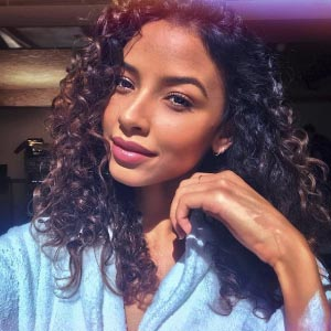 Flora Coquerel hair care routine