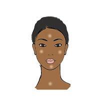 Massage anti rides peau noire