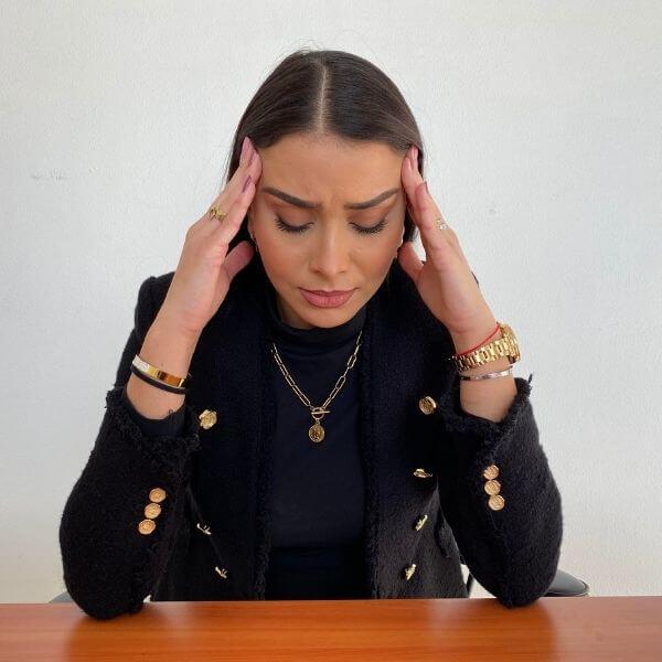 Stress Effects on Black Skin