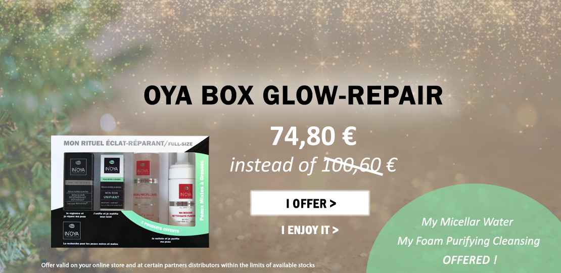 OYA BOX GLOW-REPAIR 2019 : 2 PRODUCTS OFFERED
